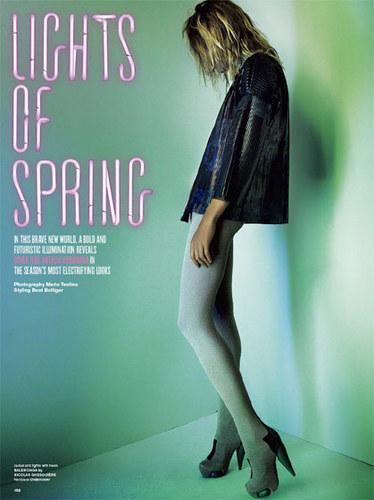 Natalia: V Magazine