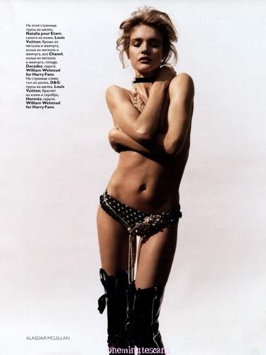 Natalia: Vogue Russia