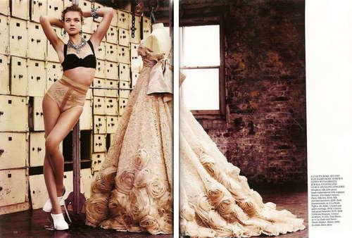 Natalia: Vogue UK May 2009