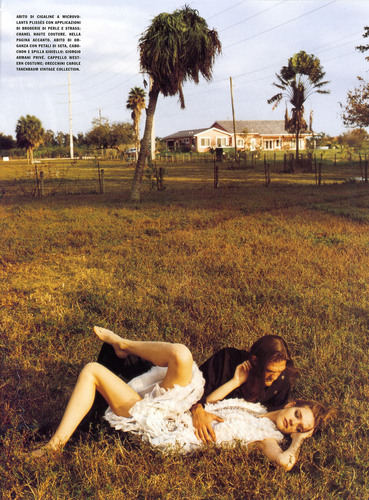 Natalia in Italian Vogue: March 2008