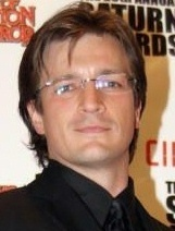 Nathan Fillion 바탕화면 with a portrait called Nathan Fillion