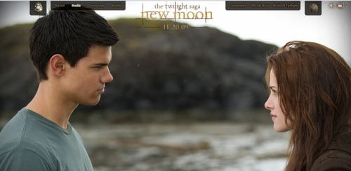 New Bella and Jacob Pic from Website