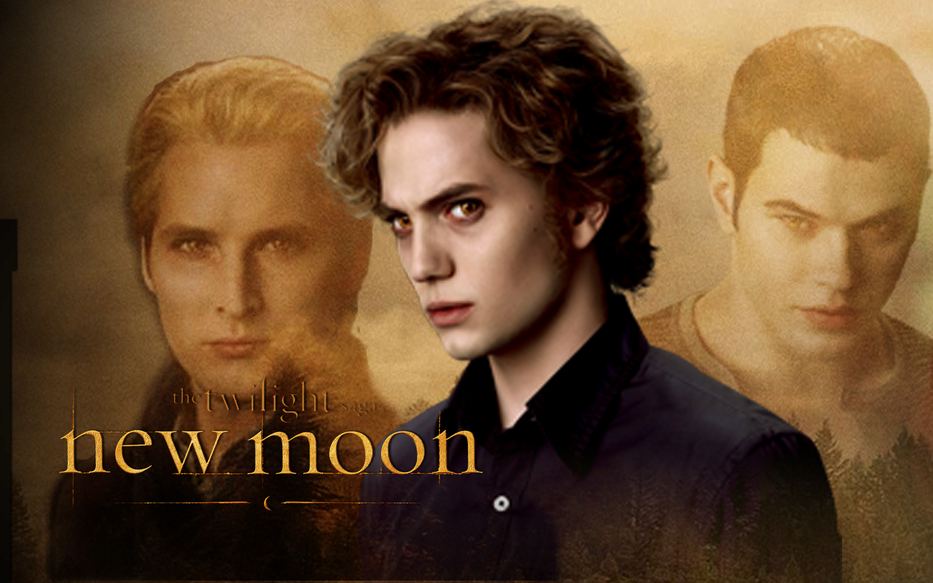 New Moon Wallpaper - Jasper, Carlisle and Emmett - twilight-series wallpaper