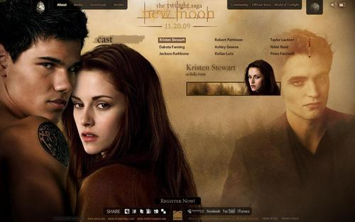 Robert Pattinson achtergrond containing a portrait titled New mOON