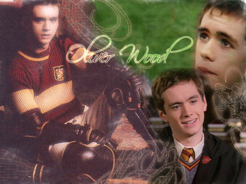 Oliver Wood - harry-potter wallpaper