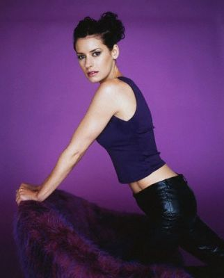 Criminal Minds Girls 壁紙 with tights and a leotard called Paget Brewster- TV Guide Photoshoot