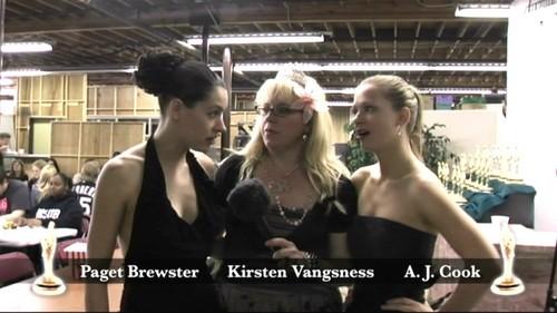 Paget, Kirsten & AJ Cook