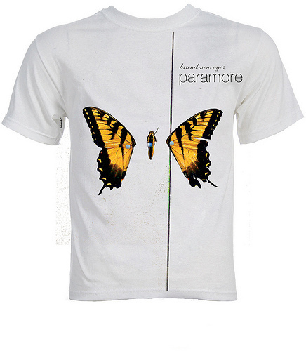 Brand New Eyes wallpaper containing a jersey titled Paramore -BNE