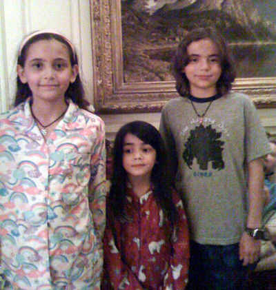 Paris, Blanket And Prince xx - blanket-jackson Photo