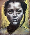Pastel Drawing of Christina Ricci - christina-ricci fan art