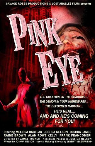 rosado, rosa Eye