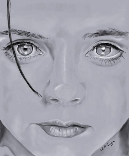 Portrait of Christina Ricci