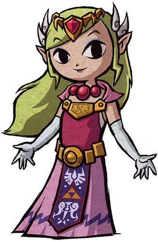 Princess Zelda from Wind Waker