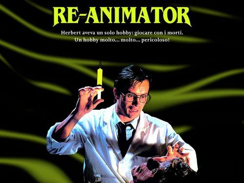 Horrorfilme Hintergrund entitled Re-Animator