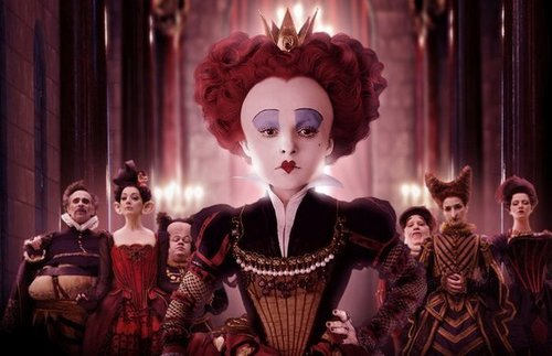 Alice in Wonderland (2010) wallpaper called Red Queen
