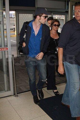 Rob on his way to LA