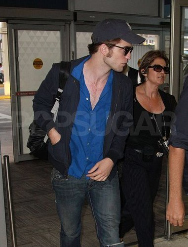 Rob on his way to LA