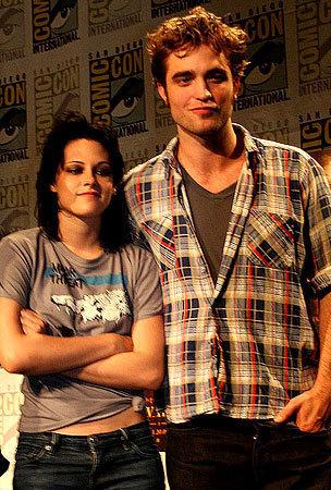 Robert Pattinson at Comic con 2009