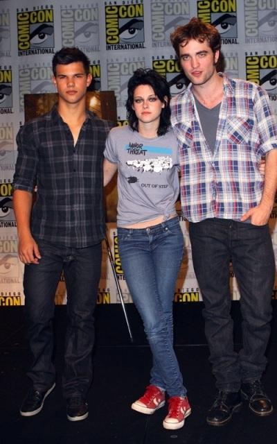 Robsten & Lautner at Comic Con 09