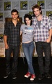 Robsten & Lautner at Comic Con 09 - twilight-series photo