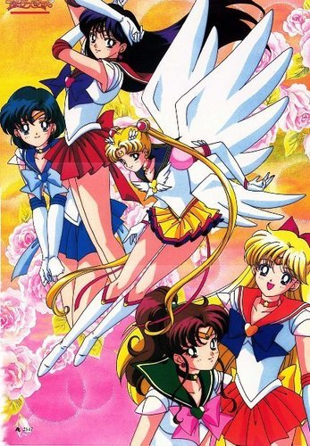 Sailor Moon Sailor Stars karatasi la kupamba ukuta with anime titled Sailor Stars