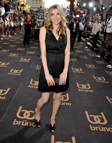 Sarah at Brüno premiere