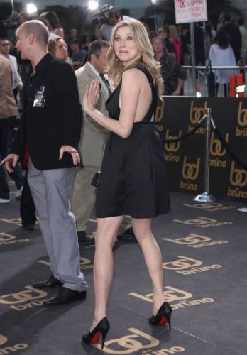 Sarah at Brüno premiere