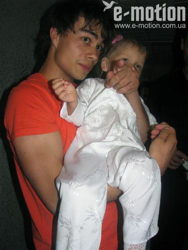Sasha with Uliana