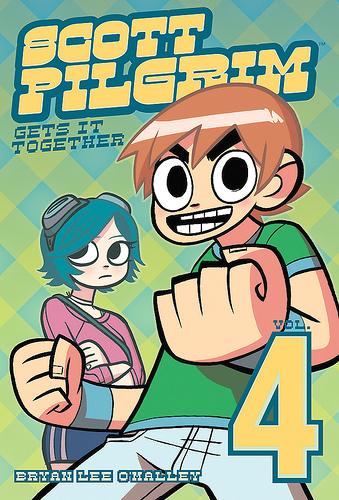 Scott Pilgrim wallpaper containing anime entitled Vol.4 Scott Pilgrim Get's It Together