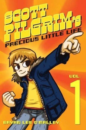 Scott Pilgrim wallpaper with anime titled Vol.1 Scott Pilgrim's Precious Little Life
