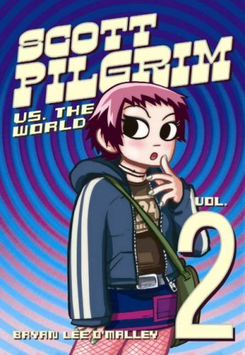Scott Pilgrim achtergrond possibly containing anime titled Vol.2 Scott Pilgrim vs. The World