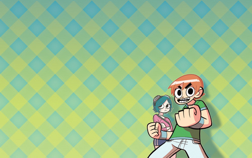 Scott Pilgrim wallpaper possibly containing anime called Scott Pilgrim Wallpaper