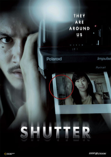 Horror Movies wallpaper entitled Shutter Movie Poster