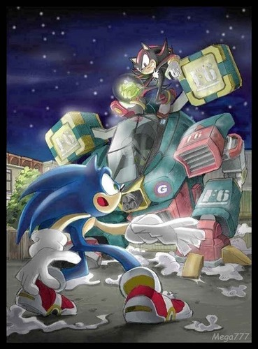 Sonic and Shadow Fight