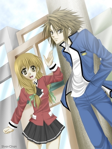 Spiral - Ayumu and Hiyono