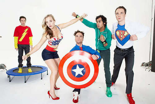 TBBT TvGuide cover shoot.