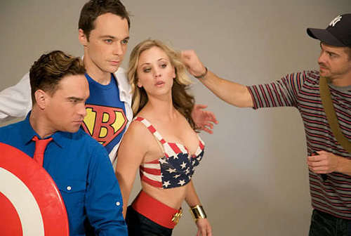 TBBT TvGuide cover shoot.   - the-big-bang-theory Photo