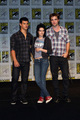 The 'New Moon' threesome at the SDCC press conference - twilight-series photo