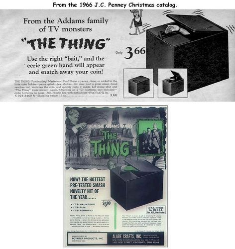 The Thing - bank ads