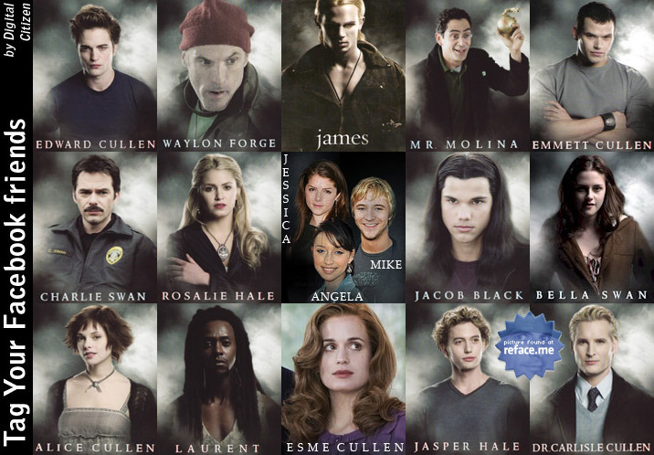 the cullens and hales images the twilight cast wallpaper