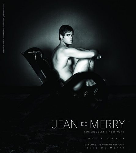 Trevor Donovan 壁纸 called Trevor modelling in Jean de Merry ads