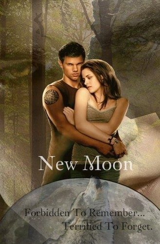 Twilight Sag - New Moon Movie Poster