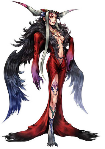 Final Fantasy VIII wallpaper possibly containing anime titled Ultimecia