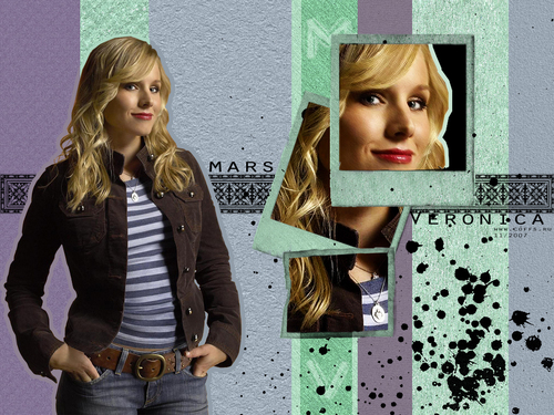 Veronica Mars দেওয়ালপত্র probably containing a sign called VERONICA MARS