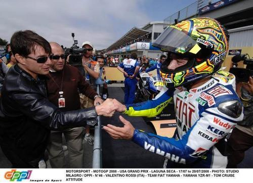 Vale and Tom Cruise