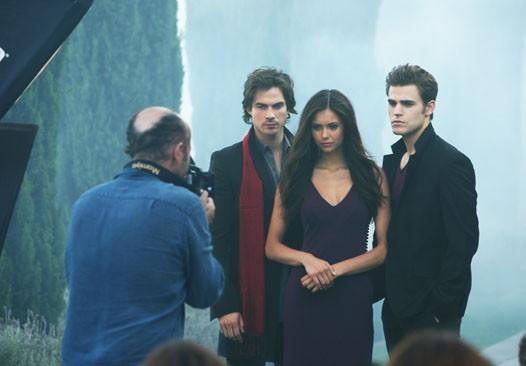 Vampire Diaries - Set Photo