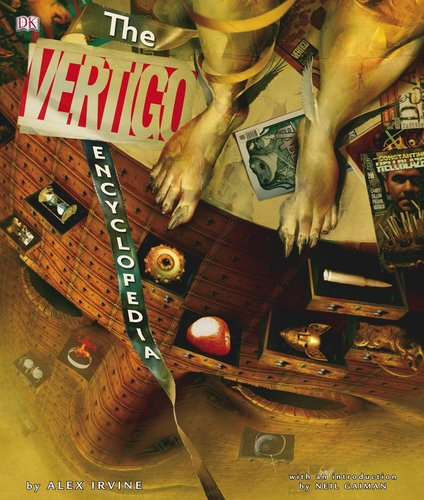 Vertigo Encyclopedia cover por Dave McKean