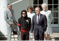 Visit in the White House  - michael-jackson photo