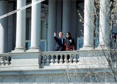 Visit in the White House