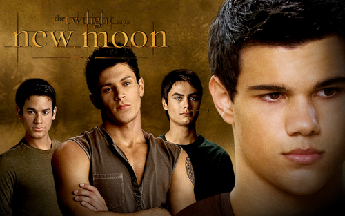 WEREWOLVES پیپر وال NEW MOON